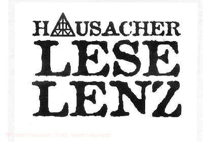 LeseLenz 2019 Hausach