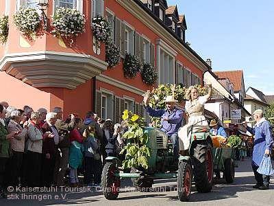 Herbstausklang und Erntedankfest Ihringen am Kaiserstuhl
