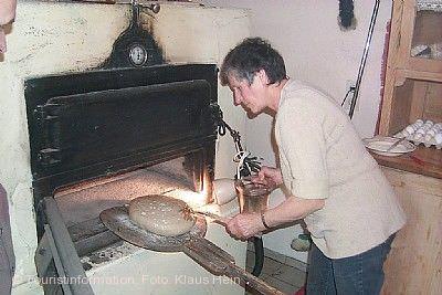 """Holzbackofen-Brote backen"" Creglingen"