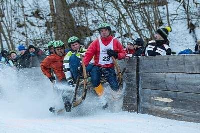 Hornschlittenrennen Garmisch-Partenkirchen