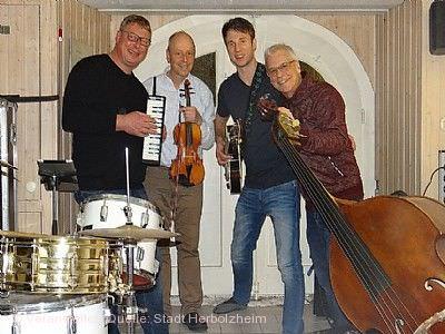 """Herbolzheimer Musiktage - Musikalische Lesung mit Gabriele Hennicke und """"Hot Club de Stampf"""""""