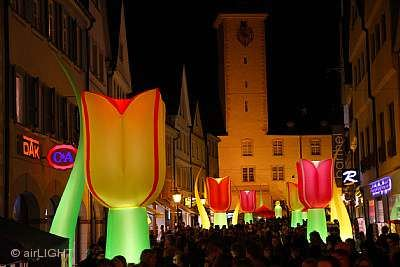 Nachtbummel mit Illumination Bad Mergentheim