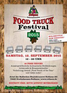 Internationales Rothaus Food Truck Festival Grafenhausen