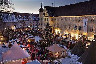 Isnyer Schlossweihnacht Isny im Allgäu am 06.12.2017 bis 10.12.2017