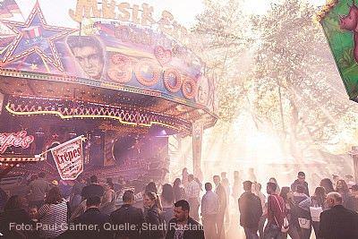 Herbstjahrmarkt und Krämermarkt Rastatt