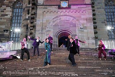 Freilichtspiele Schwäbisch Hall auf der Großen Treppe vor St. Michael