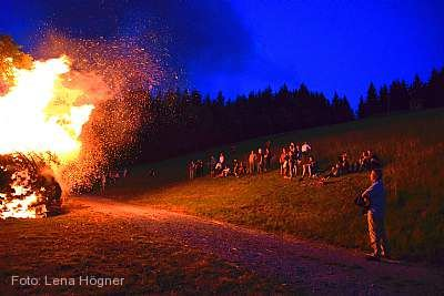 Traditionelles Johannisfeuer Todtnau am 23.06.2018