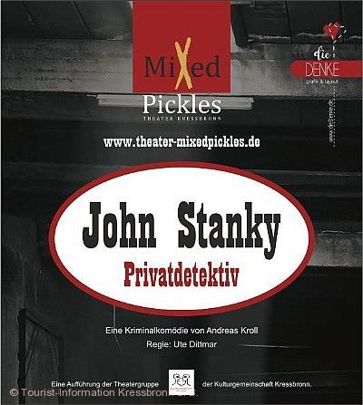 "Mixed Pickles - ""John Stanky, Privatdetektive"" Kressbronn am Bodensee"