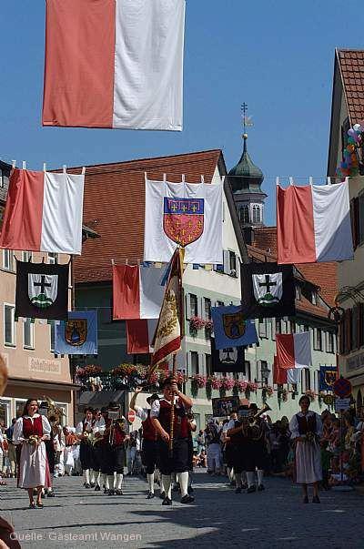Kinder- und Heimatfest Wangen im Allgäu