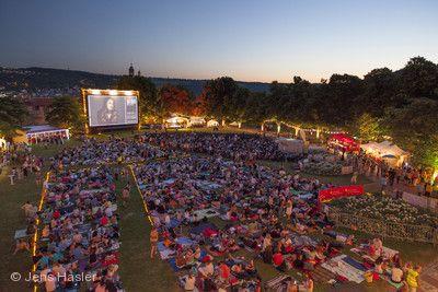 Open-Air-Kino auf der Burg Esslingen am Neckar