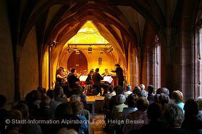 4. Alpirsbacher Kreuzgangkonzert 2020 am 01.08.2020