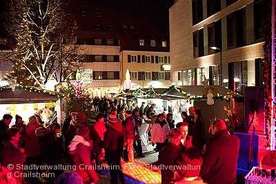 Kulinarischer Weihnachtsmarkt Crailsheim
