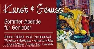 Kunst & Genuss - Sommerabende für Genießer Lahr / Schwarzwald
