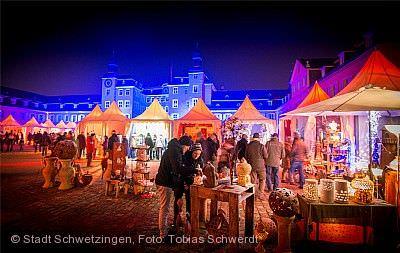 Kurfürstlicher Weihnachtsmarkt Schwetzingen