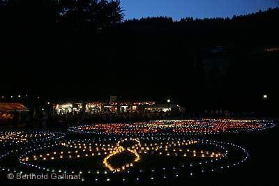 Traditionelles Dorfbrunnenfest Ottenhöfen im Schwarzwald