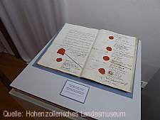 """Hohenzollern. Burg - Adelshaus - Land"" Hechingen"