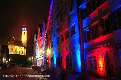 Lange Nacht der Lichter Horb am Neckar