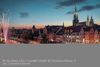 Lichterserenade auf der Donau Ulm/Neu-Ulm am 18.07.2020