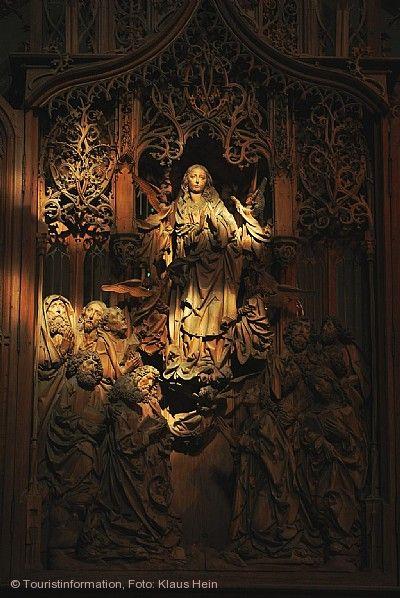 Lichtwunder in der Herrgottskirche Creglingen