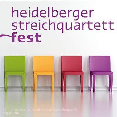 Streichquartettfest - Konzerte Heidelberg am 25.01.2019