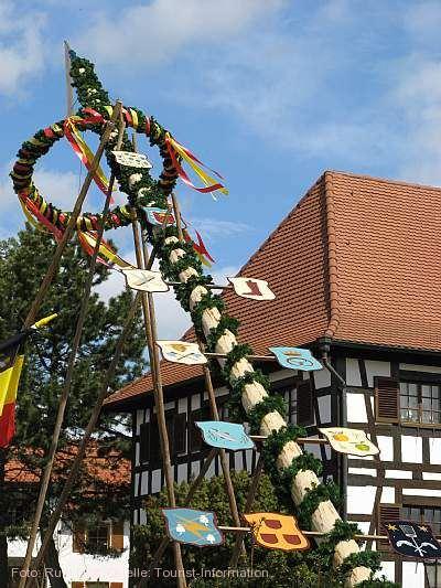 Maibaumstellen Kippenhausen Immenstaad am Bodensee am 01.05.2020