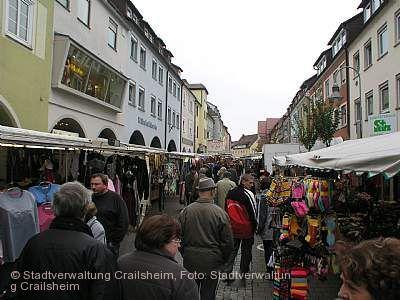 Martinimarkt Crailsheim am 07.11.2020