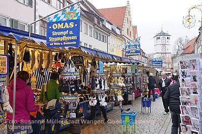 Martinimarkt Wangen im Allgäu