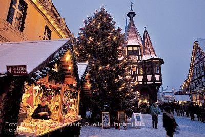 Michelstädter Weihnachtsmarkt Michelstadt