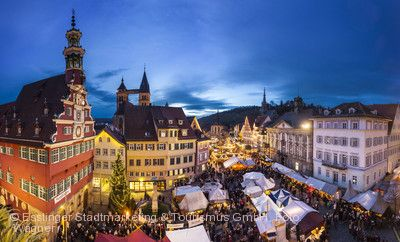 Der Esslinger Mittelaltermarkt und Weihnachtsmarkt Esslingen am Neckar