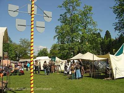 12. Mittelalterfest auf der Murginsel Gernsbach