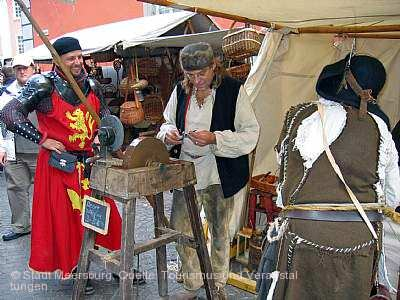 Historisches Treiben zu Meersburg