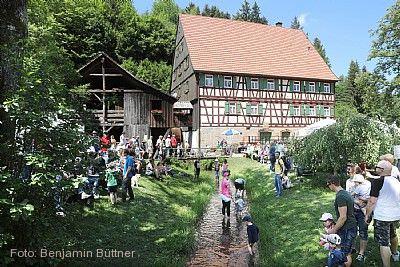 Deutscher Mühlentag im Schwäbischen Wald Welzheim