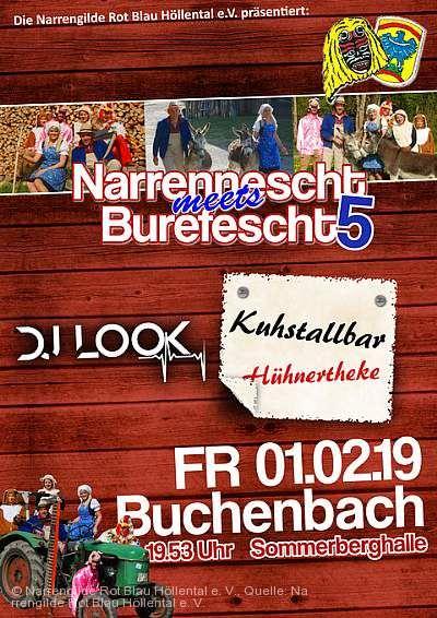"""""""Narrennescht meets Burefescht 5"""" Buchenbach"""