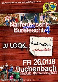"""""""Narrennescht meets Burefescht 4"""" Buchenbach"""