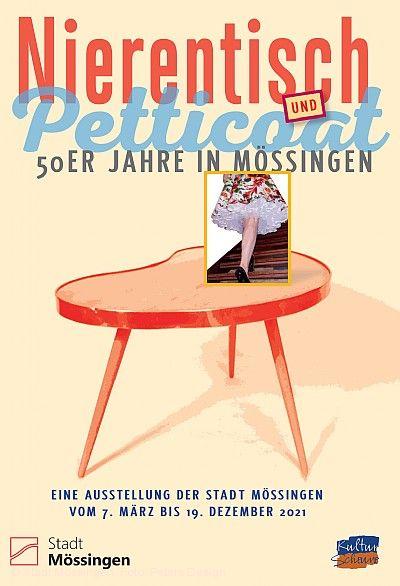 """Virtuelle Ausstellung: """"Nierentisch und Petticoat - Die 1950er-Jahre in Mössingen"""""""