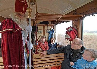 Nikolausfahrten der Öchsle-Bahn Ochsenhausen