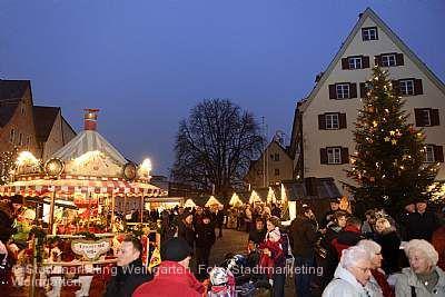 Nikolausmarkt Weingarten am 05.12.2019 bis 08.12.2019