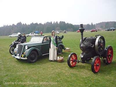 Oldtimer- und Dampfmaschinenfest Münsingen