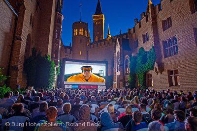 Open-Air-Kino Burg Hohenzollern