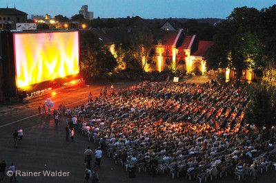 Sommernachts-Open-Air-Kino Ludwigsburg am 01.08.2019 bis 18.08.2019