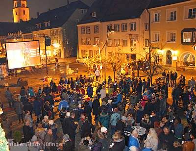 Open-Air-Kino unterm Christbaum Hüfingen am 27.11.2020