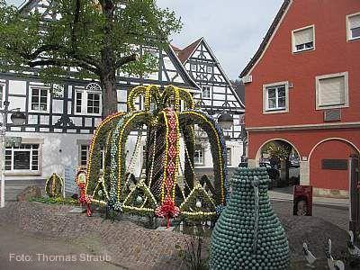 Osterbrunnen Bad Überkingen am 14.04.2019 bis 05.05.2019