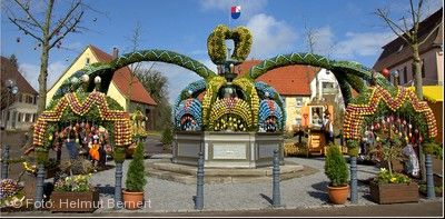 17. Osterbrunnen Schechingen am 06.04.2019 bis 28.04.2019