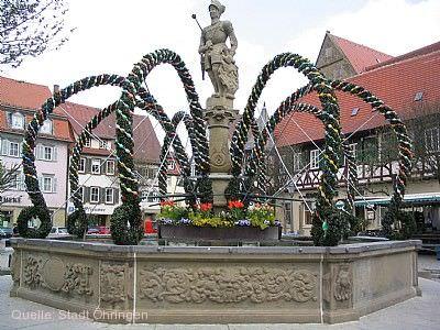 Eröffnung des Osterbrunnen Öhringen