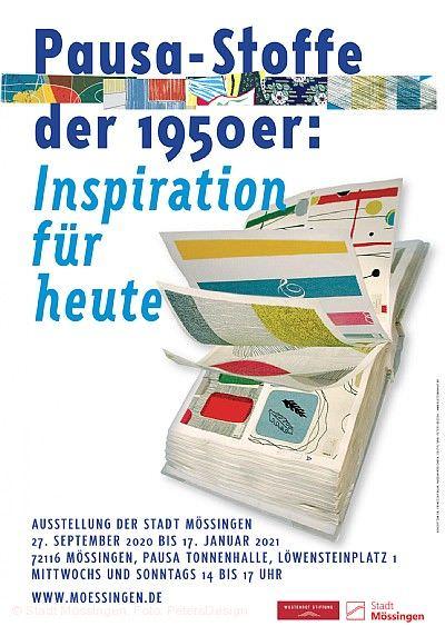 """""""Pausa-Stoffe der 1950er-Jahre"""" Mössingen"""
