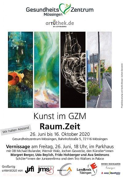 """Kunst im GZM: Ausstellung """"Raum.Zeit"""" Mössingen"""