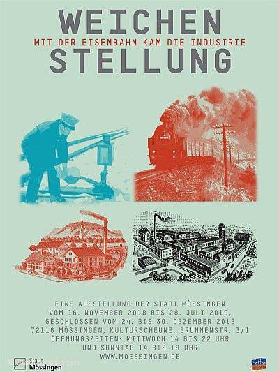 """""""Weichenstellung - mit der Eisenbahn kam die Industrie"""" Mössingen"""