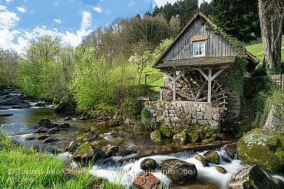 Mühlentag in Ottenhöfen im Schwarzwald