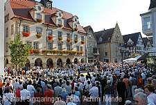 Rathausplatzkonzerte Sigmaringen