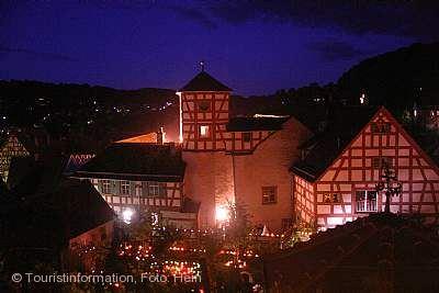 13. Rosenblüten- und Lichterfest Creglingen